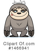 Sloth Clipart #1466941 by Cory Thoman