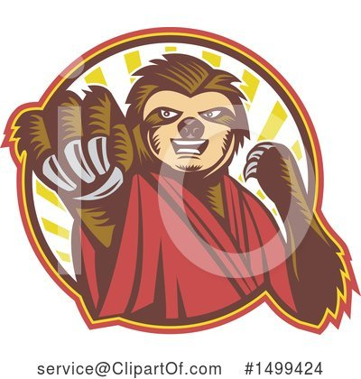 Fighting Clipart #1499424 by patrimonio