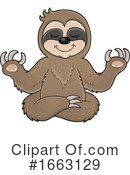 Sloth Clipart #1663129 by visekart