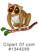 Slow Loris Clipart #1344299 by Graphics RF