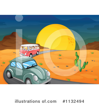 Kombi Clipart #1132494 by Graphics RF