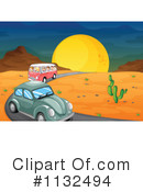 Royalty-Free (RF) Slug Bug Clipart Illustration #1132494