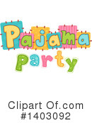 Slumber Party Clipart #1403092