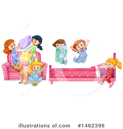 Bed Clipart #1462396 by Graphics RF