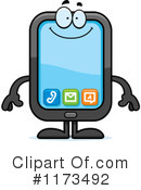Royalty-Free (RF) smart phone Clipart Illustration #1173492
