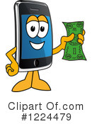 Smart Phone Clipart #1224479 by Toons4Biz
