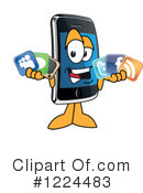 Smart Phone Clipart #1224483 by Toons4Biz