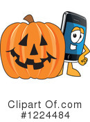 Smart Phone Clipart #1224484 by Toons4Biz