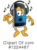 Smart Phone Clipart #1224487 by Toons4Biz