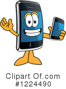Smart Phone Clipart #1224490 by Toons4Biz