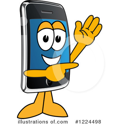 Smart Phone Clipart #1224498 by Toons4Biz