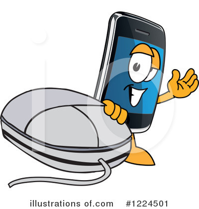 Smart Phone Clipart #1224501 by Toons4Biz