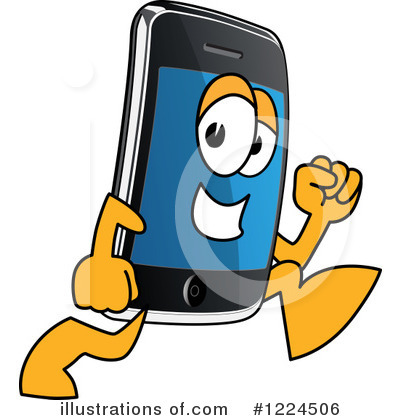 Smart Phone Clipart #1224506 by Toons4Biz