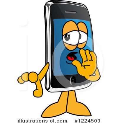 Smart Phone Clipart #1224509 by Toons4Biz