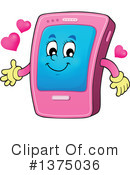 Smart Phone Clipart #1375036 by visekart