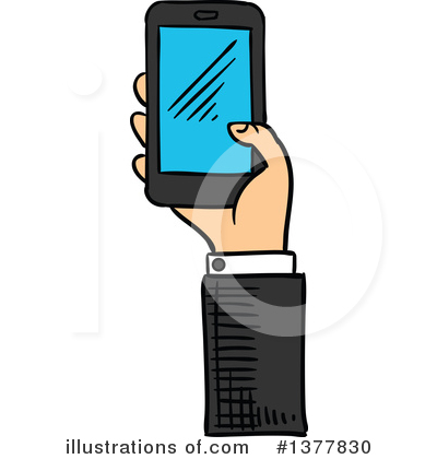 Businessman Clipart #1377830 by Vector Tradition SM