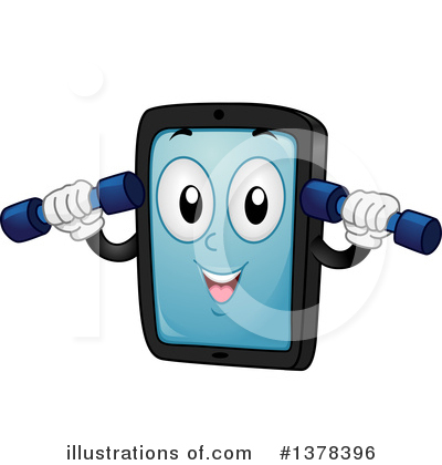 Smart Phone Clipart #1378396 by BNP Design Studio