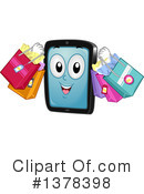 Royalty-Free (RF) Smart Phone Clipart Illustration #1378398