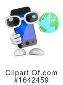 Smart Phone Clipart #1642459 by Steve Young