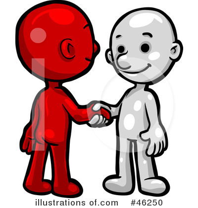 Handshake Clipart #46250 by Tonis Pan