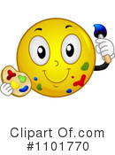 Smiley Clipart #1101770 by BNP Design Studio