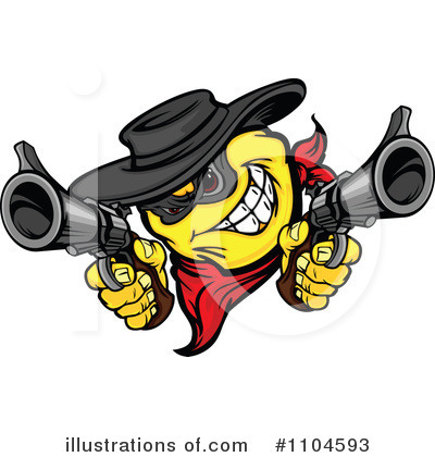 Robber Clipart #1104593 by Chromaco