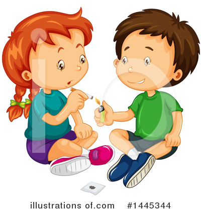 Smoking Clipart #1445344 by Graphics RF