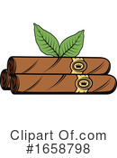 Smoking Clipart #1658798 by Vector Tradition SM