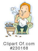 Smoking Clipart #230168 by BNP Design Studio