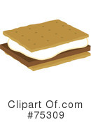 Royalty-Free (RF) Smores Clipart Illustration #75309