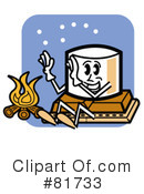 Royalty-Free (RF) Smores Clipart Illustration #81733