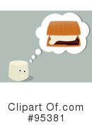 Royalty-Free (RF) Smores Clipart Illustration #95381