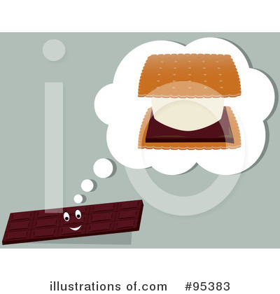 Royalty-Free (RF) Smores Clipart Illustration by Randomway - Stock Sample #95383