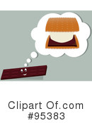 Royalty-Free (RF) Smores Clipart Illustration #95383