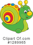 Royalty-Free (RF) Snail Clipart Illustration #1289965