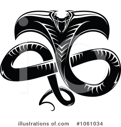Cobra Clipart #1061034 by Vector Tradition SM