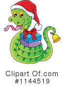 Royalty-Free (RF) Snake Clipart Illustration #1144519