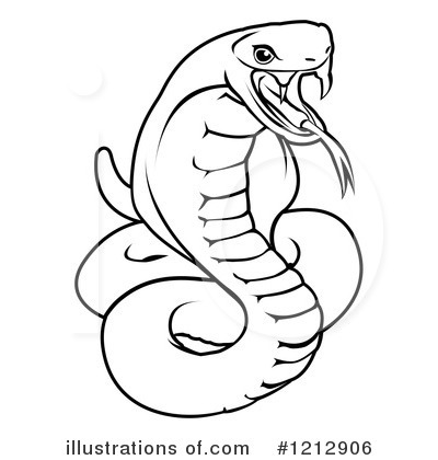 Royalty-Free (RF) Snake Clipart Illustration by AtStockIllustration - Stock Sample #1212906