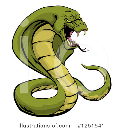 Snake Clipart #1251541 by AtStockIllustration