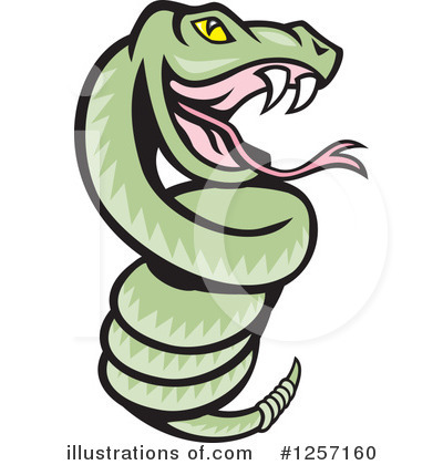 Snake Clipart #1257160 by patrimonio