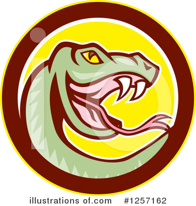 Snake Clipart #1257162 by patrimonio