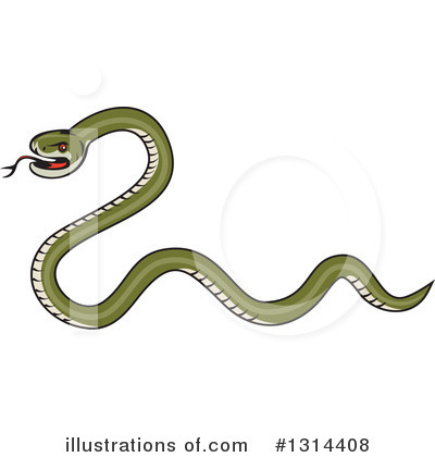 Snake Clipart #1314408 by patrimonio
