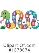 Royalty-Free (RF) Snake Clipart Illustration #1378074
