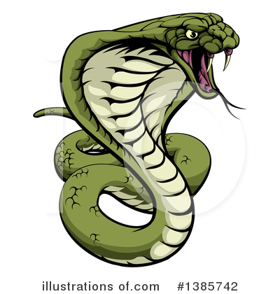 Royalty-Free (RF) Snake Clipart Illustration by AtStockIllustration - Stock Sample #1385742