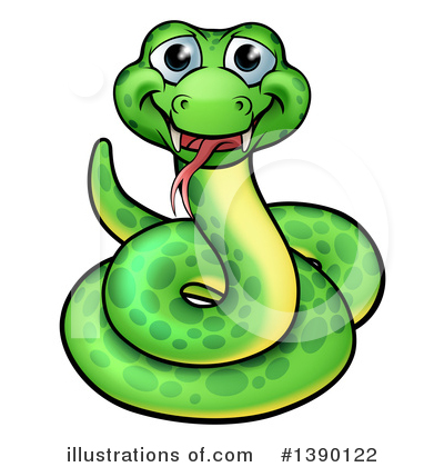 Snake Clipart #1390122 by AtStockIllustration
