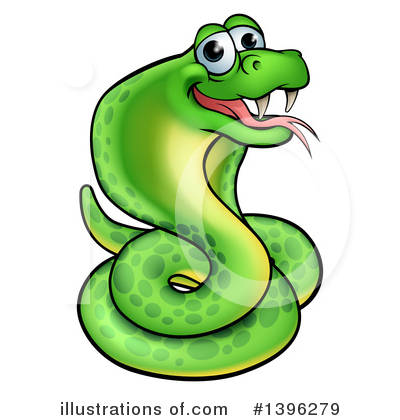 Snake Clipart #1396279 by AtStockIllustration