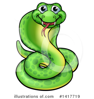 Snake Clipart #1417719 by AtStockIllustration