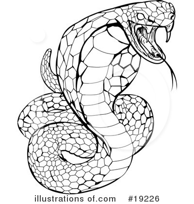 Snake Clipart #19226 by AtStockIllustration