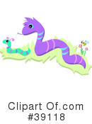 Royalty-Free (RF) Snake Clipart Illustration #39118