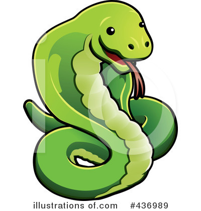 Snake Clipart #436989 by AtStockIllustration